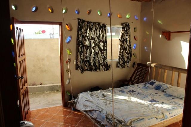 notre chambre à Casa del Sol - Tulum et son lit suspendu