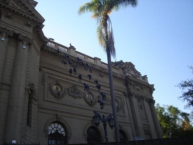 Santiago: musée des beaux arts
