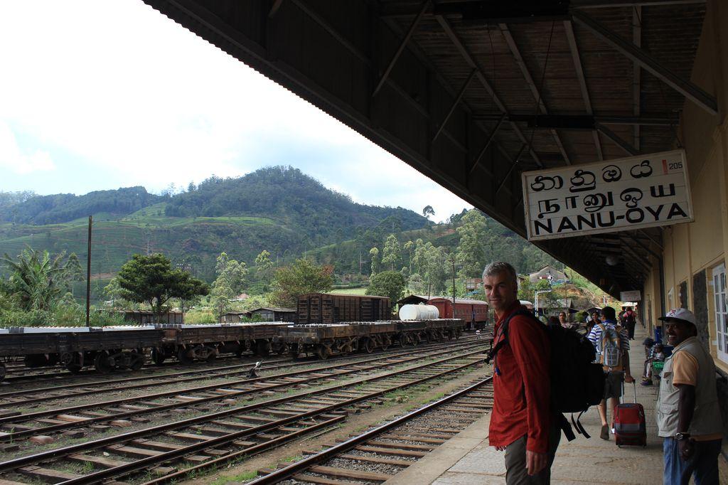arrivée à Nanu Oya