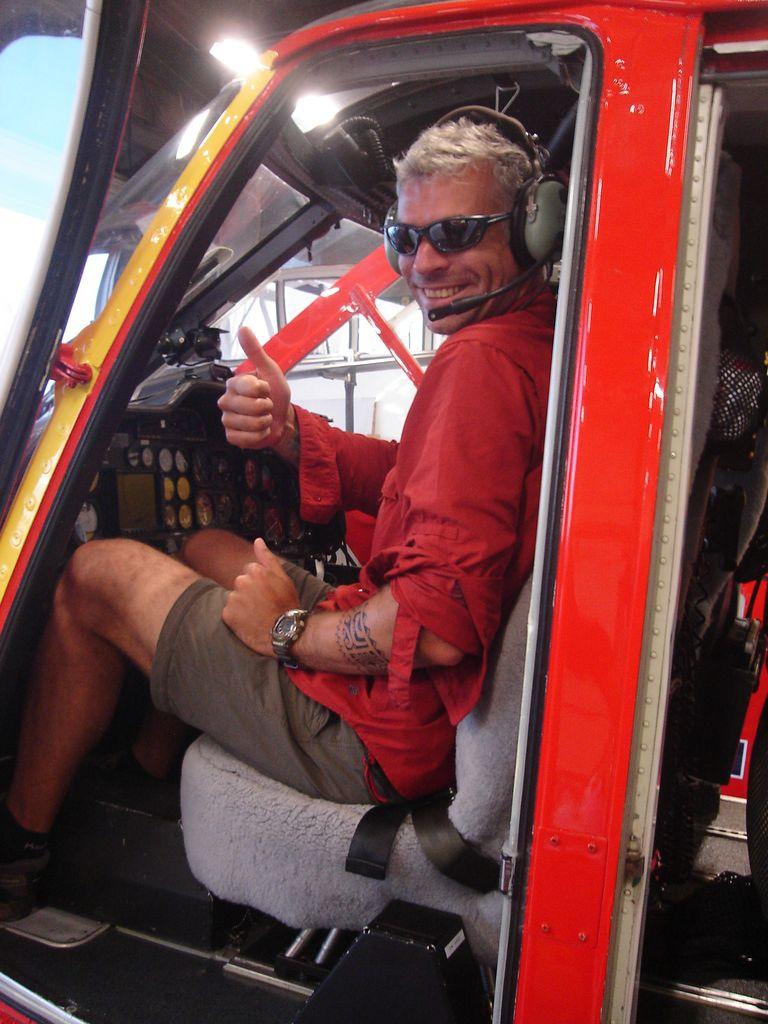 Alexis se la joue pilote