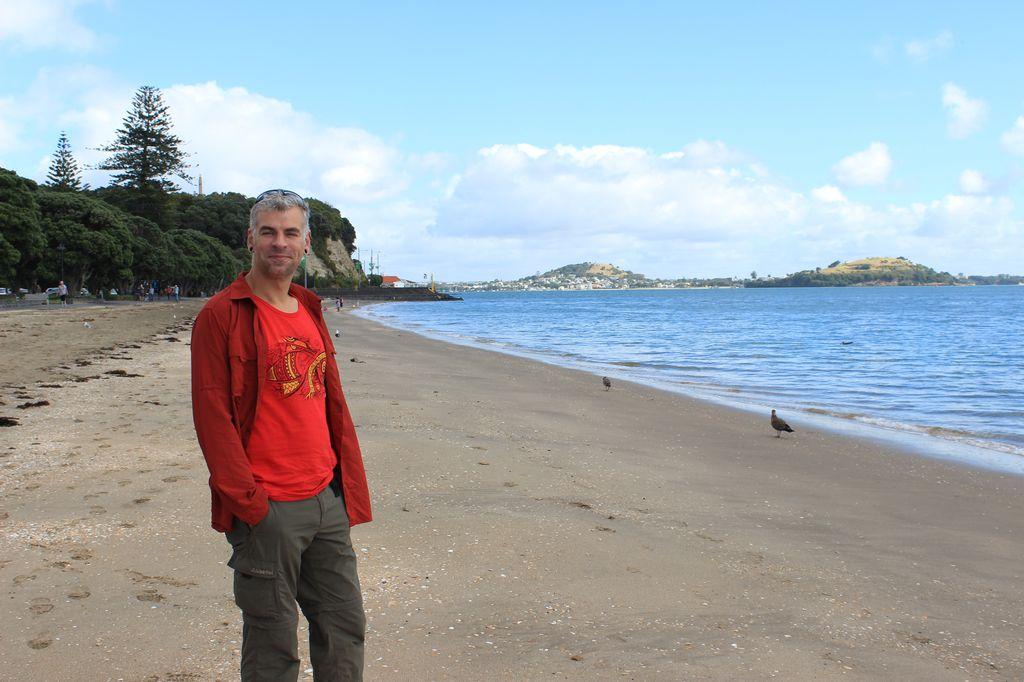 la plage de Mission bay
