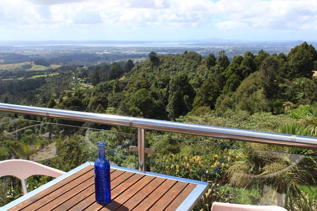 ElElevation café: la baie d'Auckland