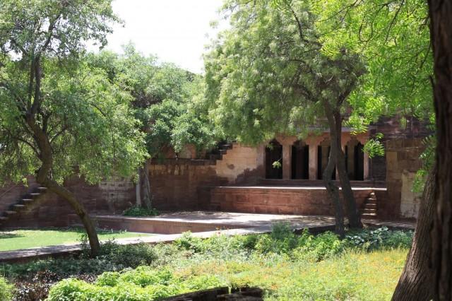 Jardin de Mehrangarh