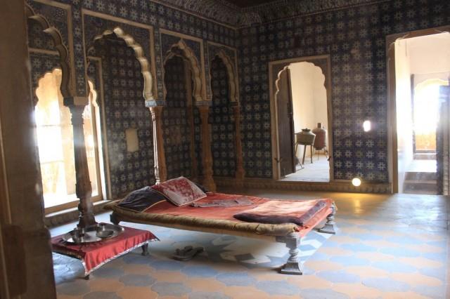 l'intérieur du palais