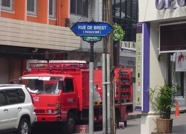 la Bretagne à Bangkok
