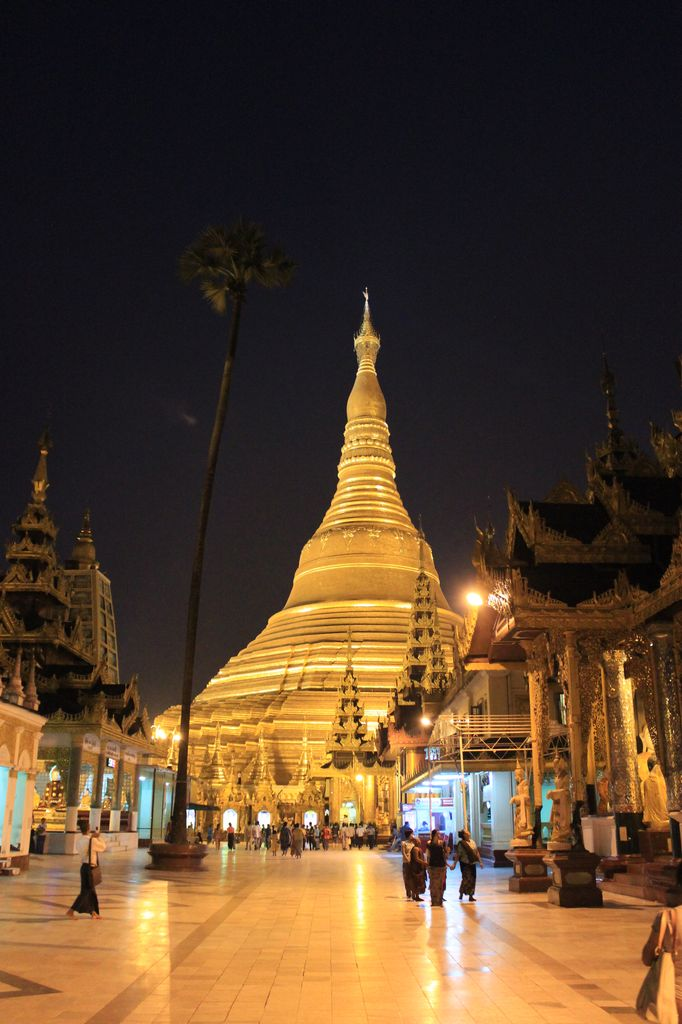 Pagode Swedagon, Yangon