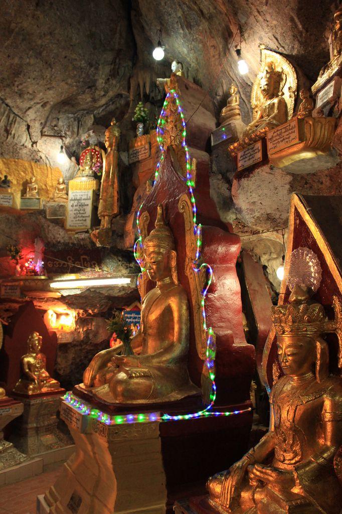 Kalaw: le temple dans la grotte