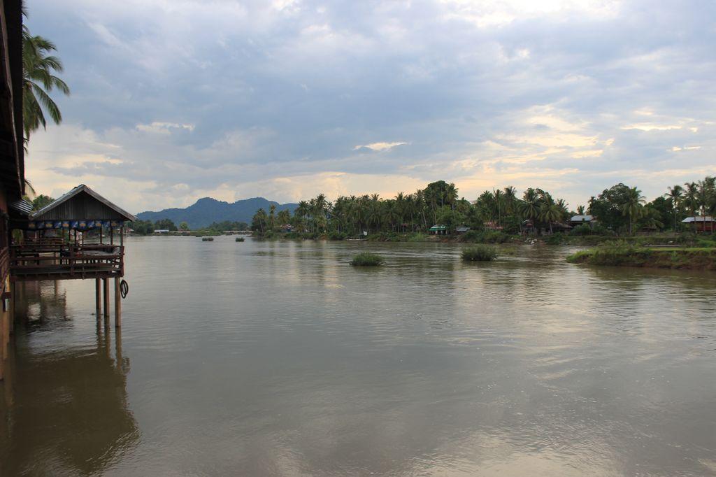 Le Mekong, vu du sunset paradise