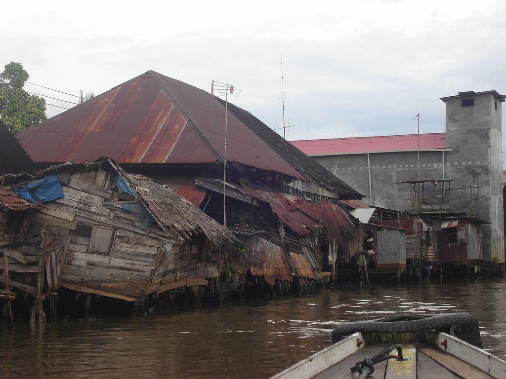 Les canaux de Banjarmasin