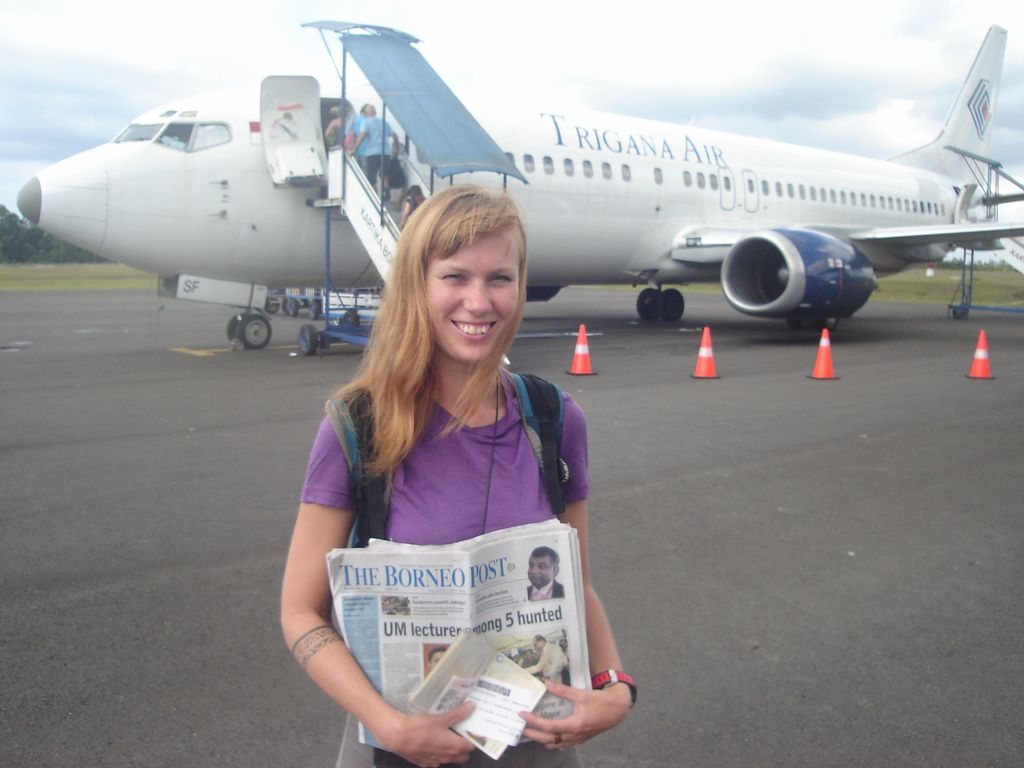 au revoir Bornéo!