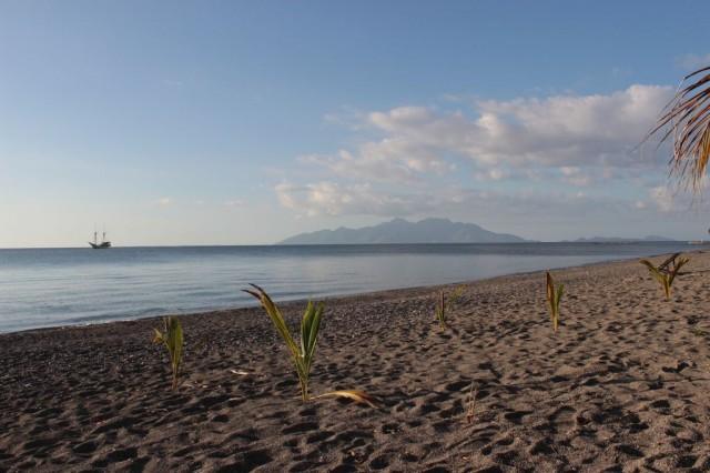 vue depuis notre plage